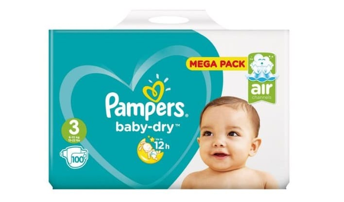 Couches Pampers à -70% chez Carrefour Market