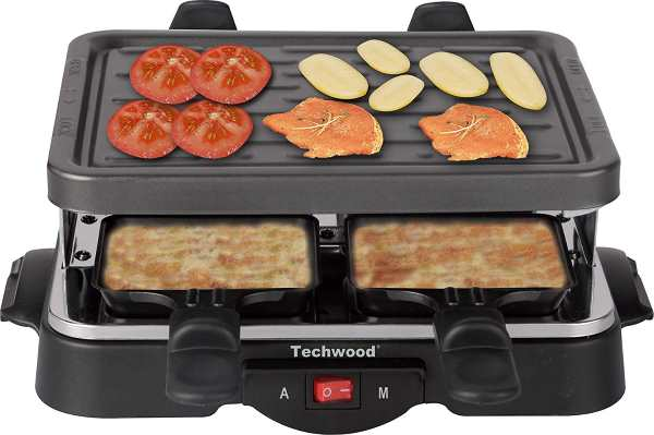 amazon appareil raclette techwood 4 personnes 12 99. Black Bedroom Furniture Sets. Home Design Ideas