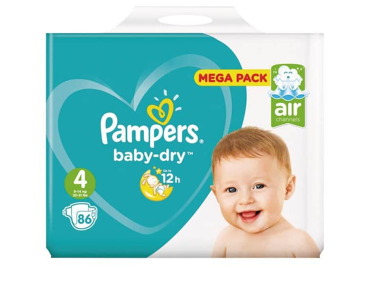 Couches Pampers à -80% chez Carrefour Market