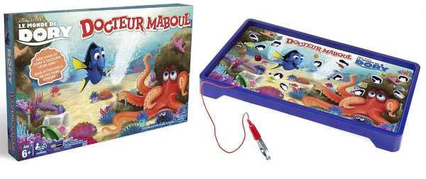 Jeu Docteur Maboul Hasbro version Dory à 9,99 € sur Amazon