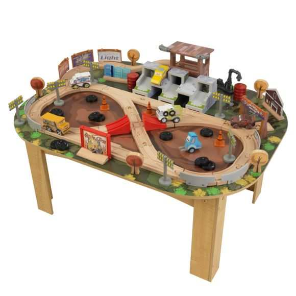 Table avec circuit Cars 3 Thunder Hollow Kidkraft à 38,24 € sur Rue du Commerce