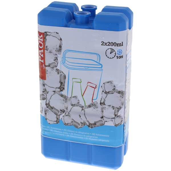 Lot de 2 blocs réfrigérants de 200 mL à 0,69 € chez Action
