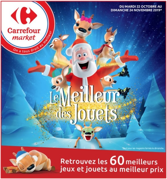 Catalogue Carrefour Market noël 2019