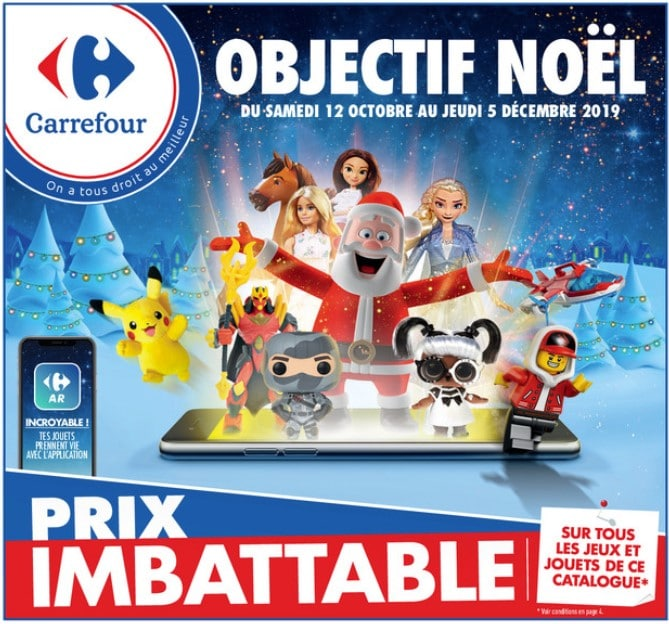 Catalogue carrefour jouets de noël 2019