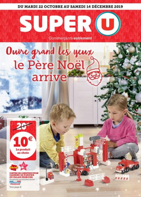 Catalogue Super U jouets noël 2019