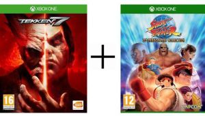 Pack 2 jeux Xbox One Tekken 7 + Street Fighter 30th Anniversary Collection à 34,90 € sur Cdiscount