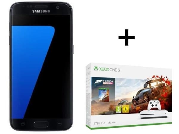 Samsung Galaxy S7 + Xbox One S 1 To Forza Horizon 4 à 379 € via ODR pendant le Black Friday sur Cdiscount