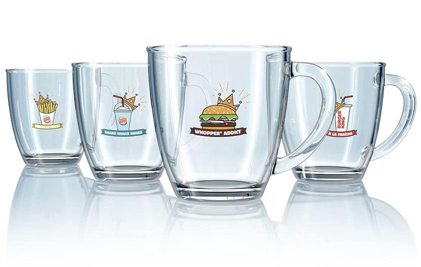 Mug Burger King collector offert