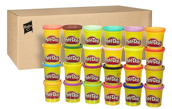 Lot de 24 pots de pâte à modeler Play-Doh à 10,99 € sur Amazon