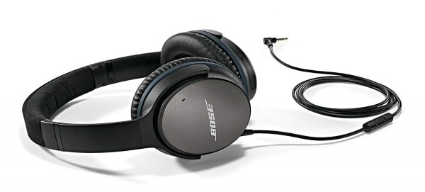Casque circum-aural à réduction de bruit Bose QuietComfort à 149 € sur Amazon