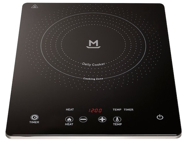 Plaque à induction Mandine 2000w à 34,90 € chez Carrefour