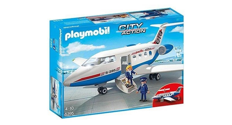 playmobil avion ciy action