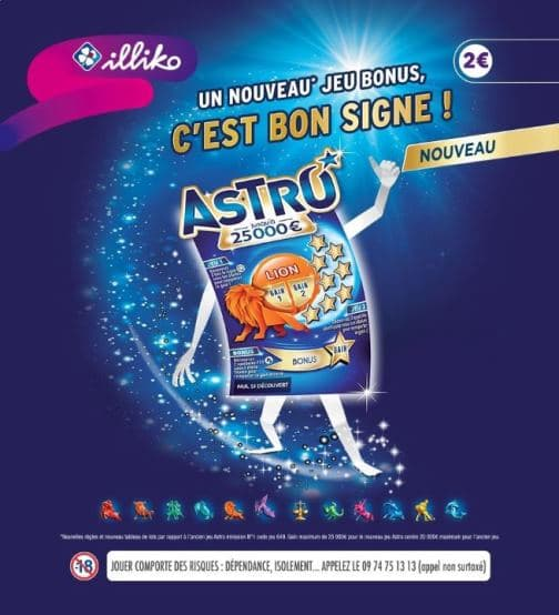 ODR Shopmium sur ticket de grattage illiko Astro FDJ