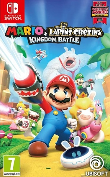 Mario + The Lapins Crétins Kingdom Battle pas cher pour Nintendo Switch
