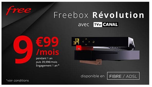 Vente Privee Freebox Revolution Abonnement Internet Tv