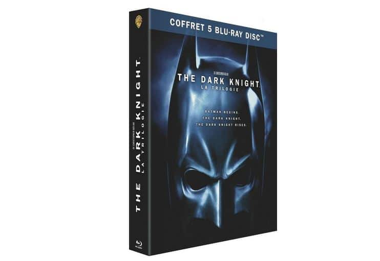 Coffret The Dark Knight en blu-ray