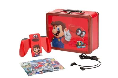 Kit lunch box Mario Odyssey pour Nintendo Switch à 4,99 € sur la Fnac