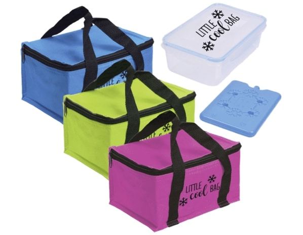 Sac isotherme + bloc froid + lunch box à 4,99 € chez Aldi