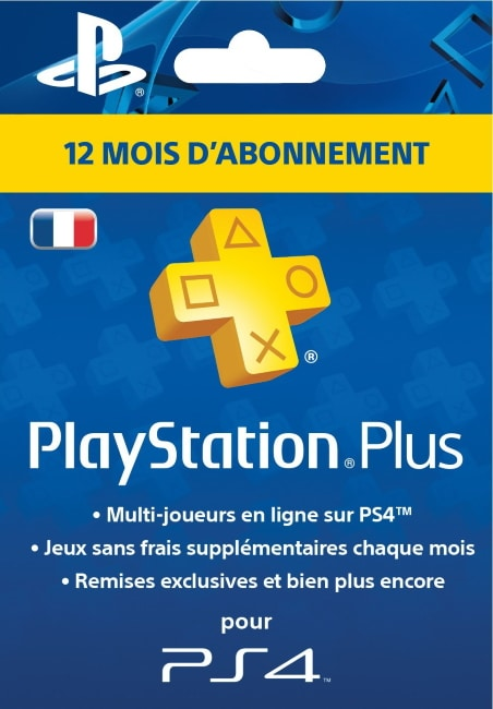 Un an d'abonnement à Playstation Plus à 44,90 € sur Amazon
