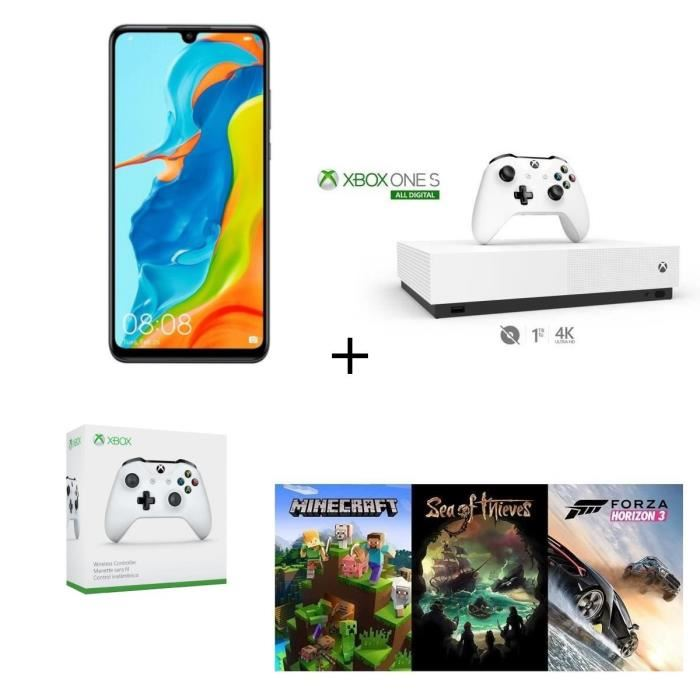 Offre Cdiscount: HUAWEI P30 lite 128 Go + Xbox One S 1 To + Manette à 419,99 €