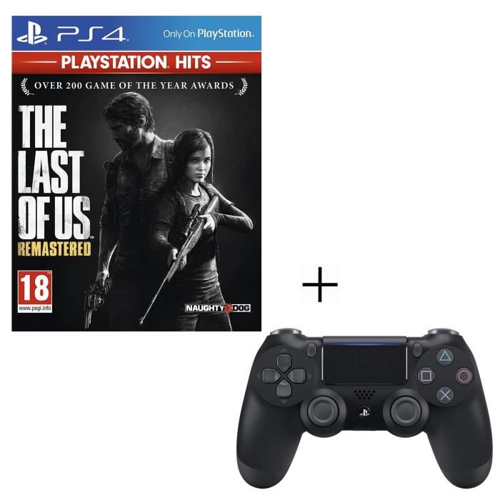 Pack The Last Of Us Remastered + Manette PS4 + Voucher Fortnite à 49,99 € sur Cdiscount