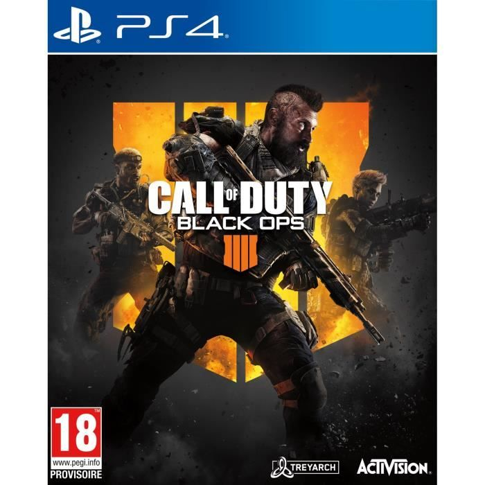 Le jeu « Call of Duty Black OPS 4 » sur PS4 à 8,39 € sur Cdiscount