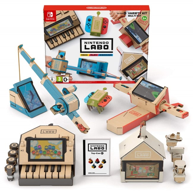 Nintendo Labo multi kit à 24,99 € sur Amazon