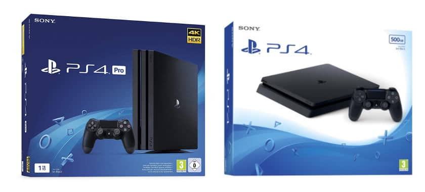 PS4 Slim 500 Go à 199,99 € + PS4 Pro 1To à 299,99 € sur Amazon via son Black Friday 2019