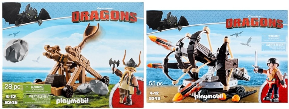 Playmobil Dragons Boxes avec balista ou catapulte à partir de 7,95 € en action