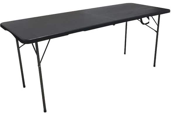 Table pliante multi usage aspect bois à 19,95 € chez Carrefour