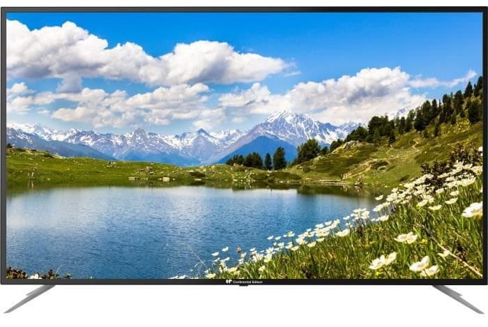 "TV LED 4K Ultra HD Continental Edison 58"" (146 cm) à 279,99 € sur Cdiscount"