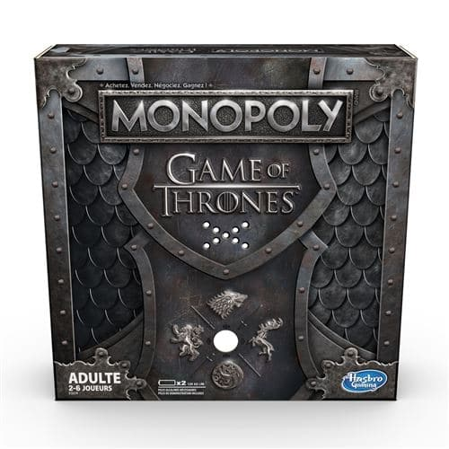 Jeu Monopoly Game of Thrones à 14,99 € sur la Fnac