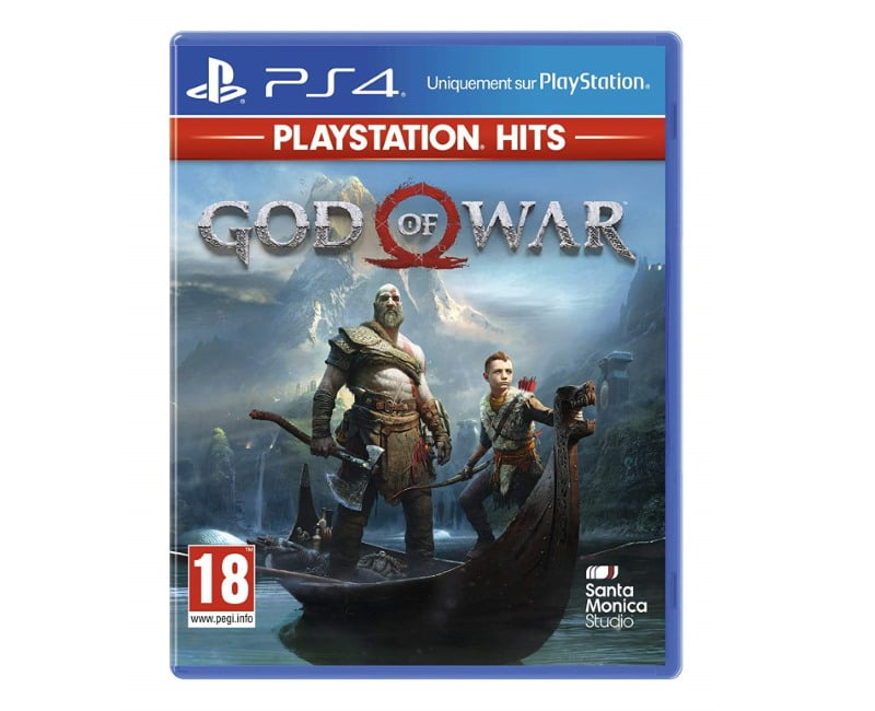 Le jeu « God of War Hits » pour PS4 à 15,26 € sur Amazon