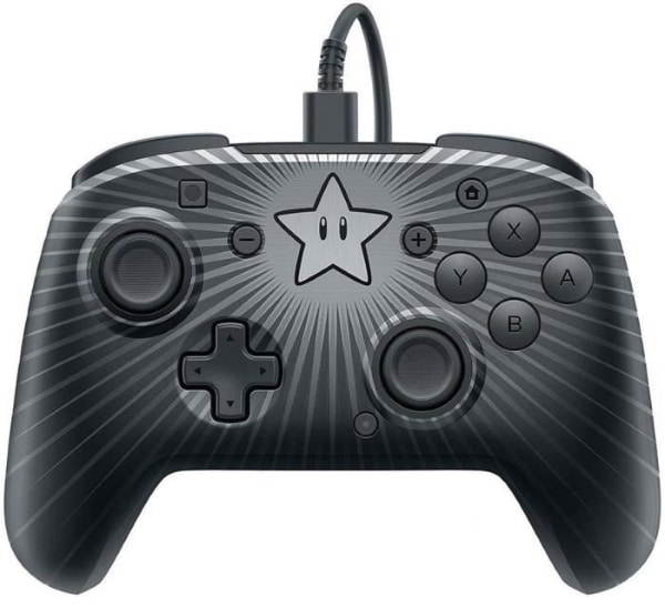 Manette de Nintendo Switch filaire PDP Afterglow à 14,99 € sur Cdiscount