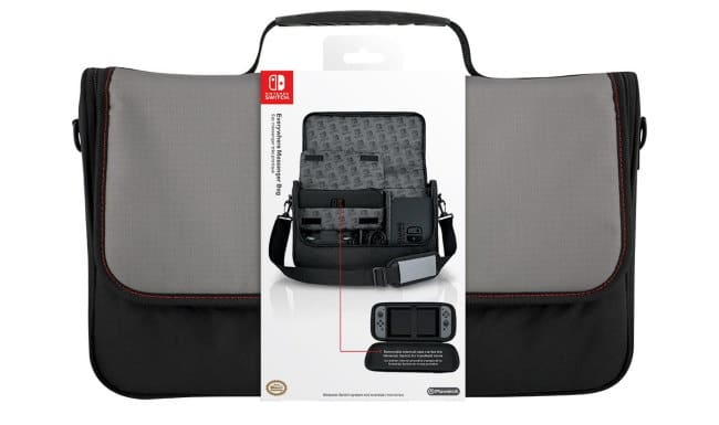 Sac de transport Messenger Nintendo Switch à 19,99 € sur Auchan