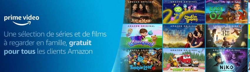 Des films et séries gratuits sur Amazon Prime Video