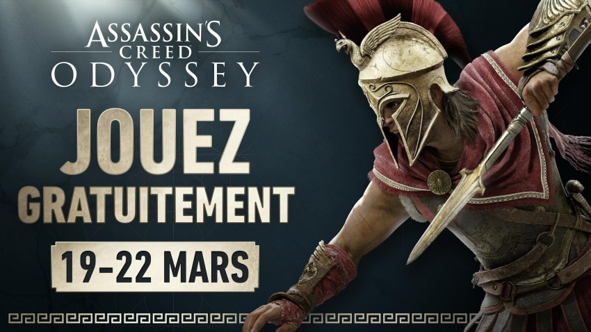 Assassin's Creed Odyssey gratuit pendant 4 jours
