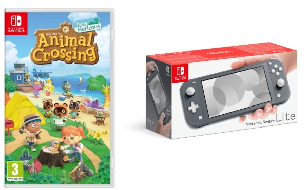 Pack Nintendo Switch Lite et Animal Crossing New Horizons à 224,99 € sur Boulanger