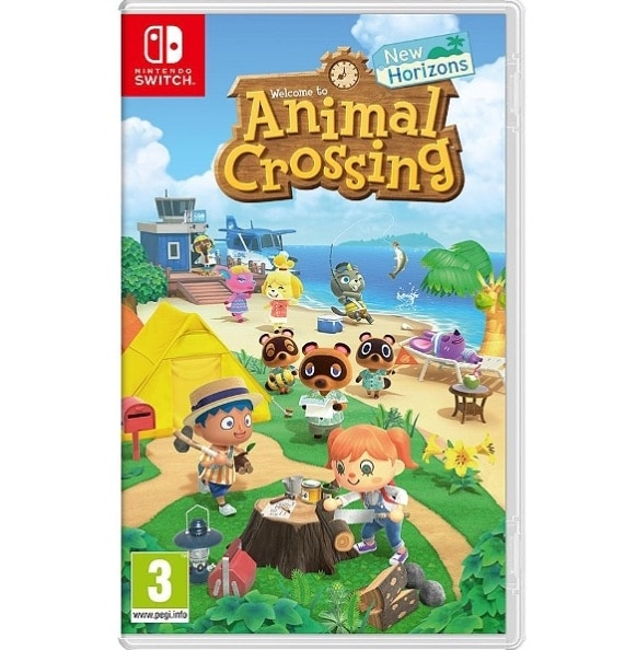 Animal Crossing New Horizons pour Nintendo Switch à 44,49 € chez Leclerc