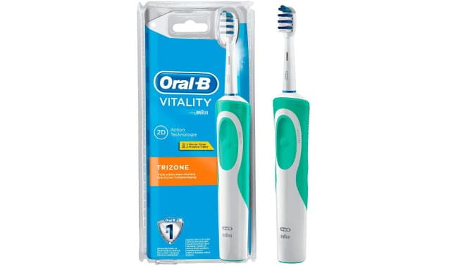 La brosse à dents Oral-B Vitality Trizone à 12,12 € sur Amazon