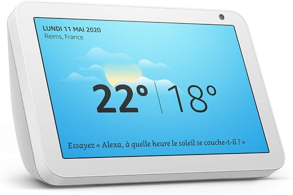 Assistant Echo Show 8 Alexa à 89,99 € sur Amazon