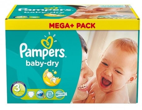 Couches Pampers Baby Dry moins chères chez Intermarché