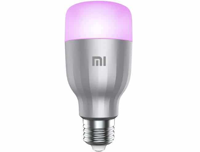 L'ampoule Xiaomi Mi LED Smart Bulb Color est à 14,99 € sur Amazon
