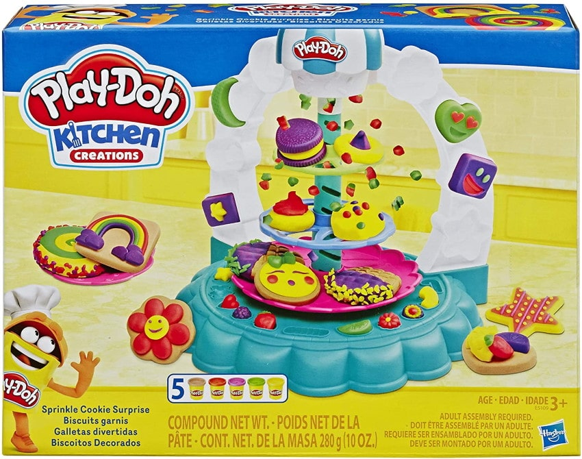 Pack de pâte à modeler Play-Doh Les Gourmandises à 8,99 € sur Amazon