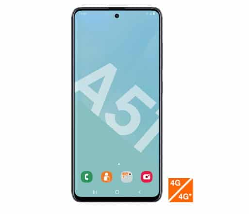 Le Samsung Galaxy A51 noir à 269,99 € via l'ODR Orange