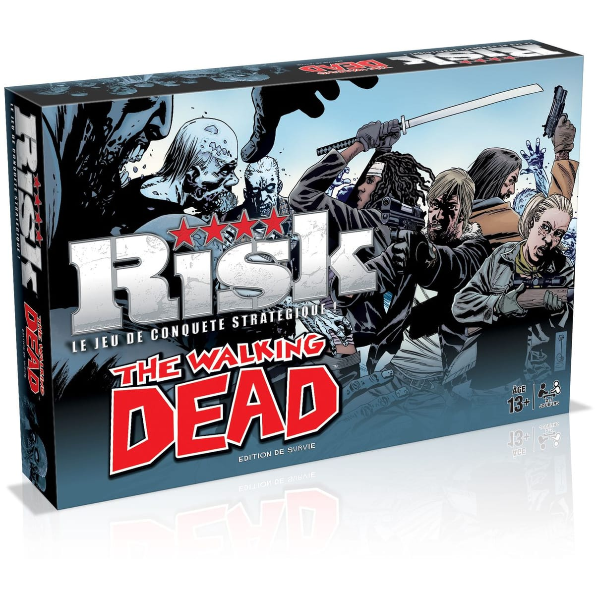 Risk version The Walking Dead à 12 € chez Auchan via remise fidélité