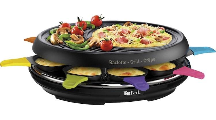 Appareil à raclette Tefal 8 personnes à 39,90 € sur Boulanger