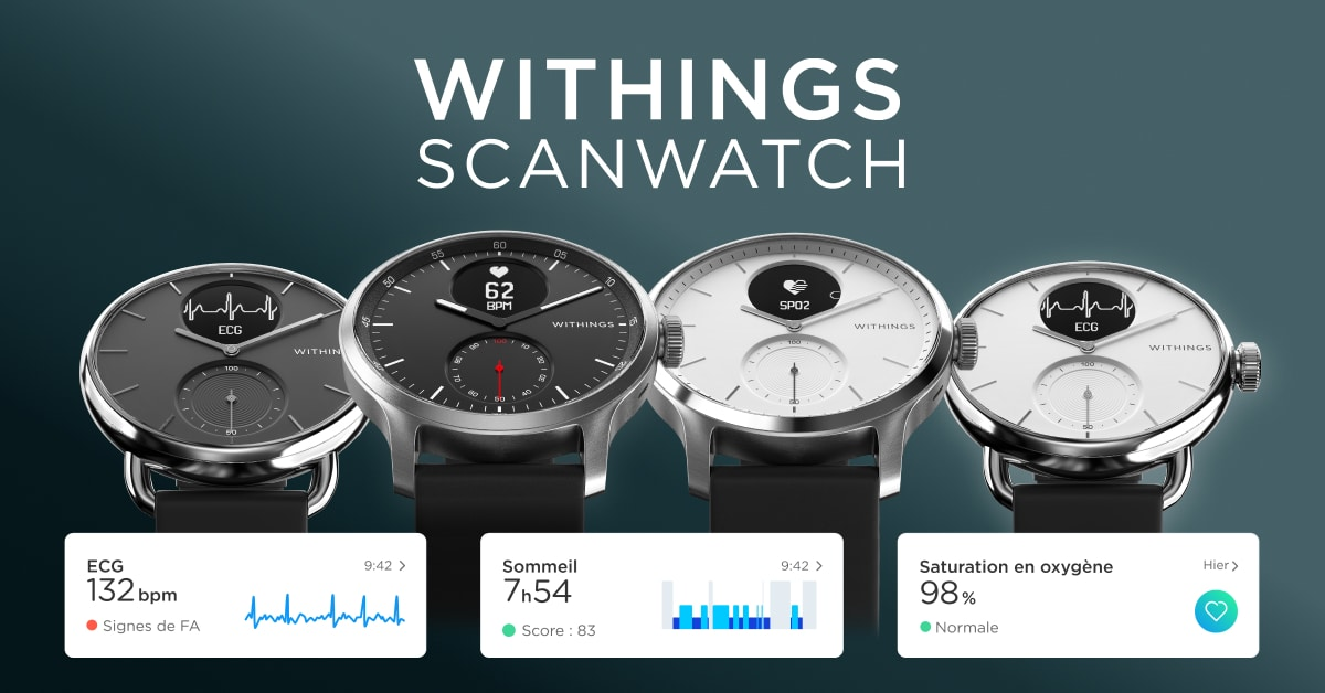 withings montre noel