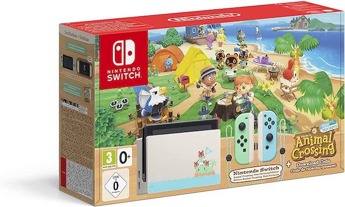 Nintendo Switch Animal Crossing New Horizons à 339 € sur Amazon