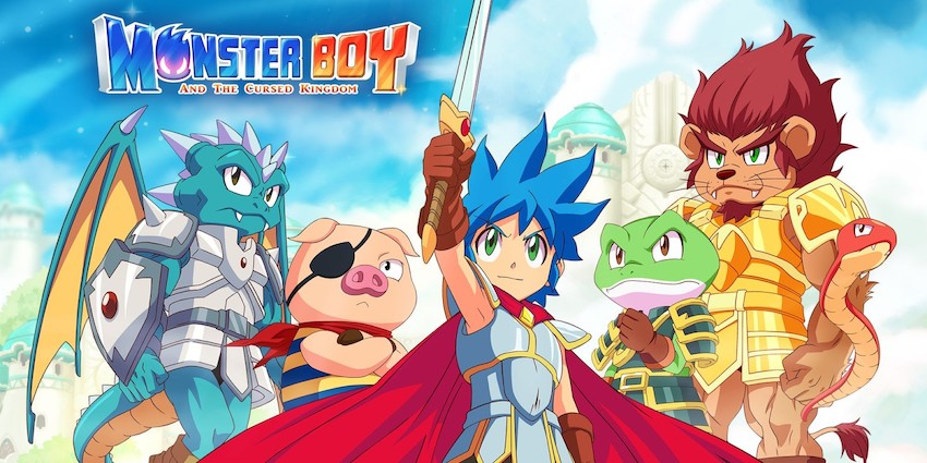 Monster Boy and the Cursed Kingdom à 15,99 € sur Nintendo Switch